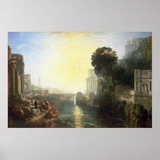 La subida del imperio cartaginés póster