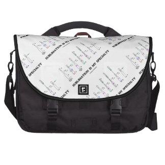 La sublimación es mi especialidad (la actitud de l bolsas para ordenador