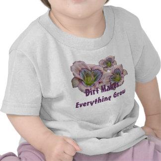 La suciedad hace que Everythig crece al niño T Camiseta