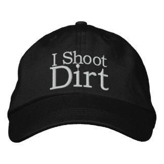 La suciedad se divierte el gorra de la fotografía gorra de beisbol
