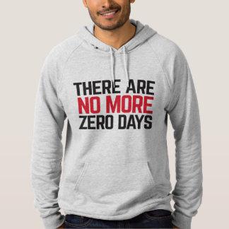 La sudadera con capucha de no más de hombres cero