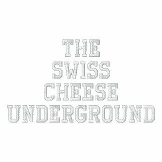 La sudadera con capucha subterráneo del queso suiz