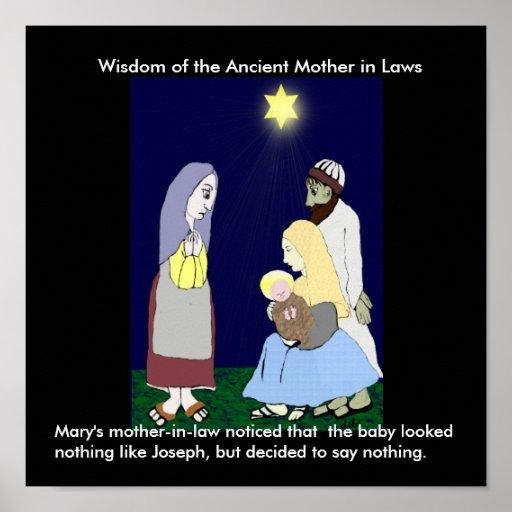 La suegra de Maria notada… Póster