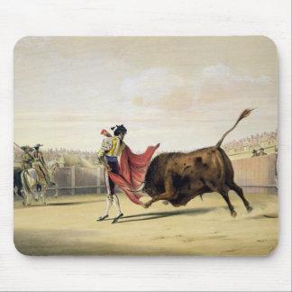 La Suerte de la Capa 1865 colour litho Mousepad