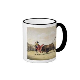 La Suerte de la Capa 1865 colour litho Coffee Mug