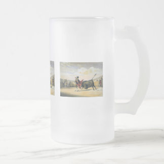 La Suerte de la Capa Frosted Glass Beer Mug