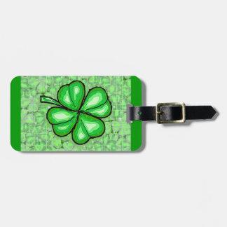 La suerte del irlandés etiquetas maleta
