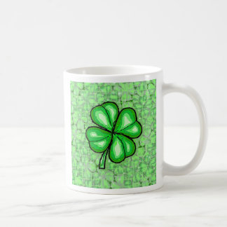 La suerte del irlandés taza