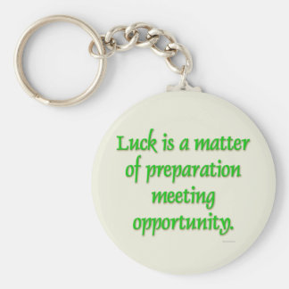 La suerte es… Llavero