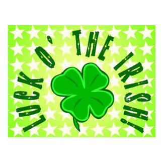 La suerte o el irlandés protagoniza la postal