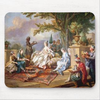 La Sultana servida por sus eunucos Tapetes De Raton