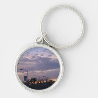 LA Sunset Keychain