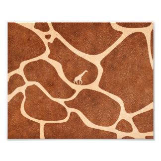 La superficie del modelo de la piel de la jirafa fotografía