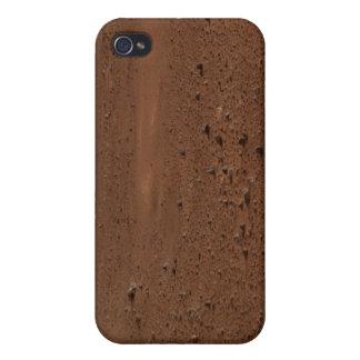 La superficie rocosa de Marte iPhone 4/4S Carcasas