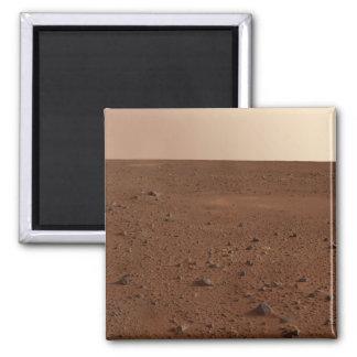 La superficie rocosa de Marte Imán Cuadrado