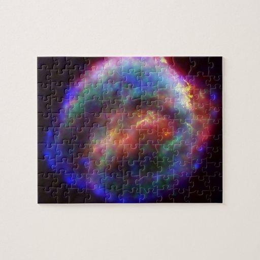La supernova de Kepler, en Ophiuchus Rompecabezas Con Fotos