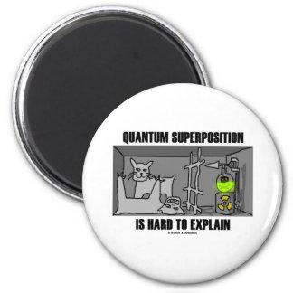 La superposición de Quantum es dura de explicar Iman De Frigorífico