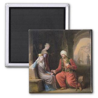 La súplica, 1822 (aceite en lona) imanes
