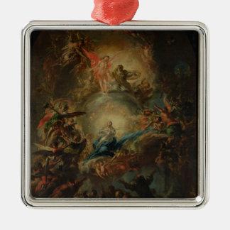 La suposición, c.1695 ornamento de reyes magos