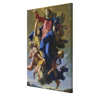 La suposición de la Virgen, 1649-50 Impresiones En Lona