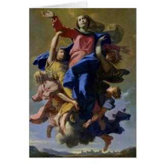 La suposición de la Virgen, 1649-50 Tarjeta De Felicitación