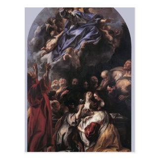 La suposición de la Virgen de Jacob Jordaens Tarjeta Postal