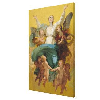 La suposición de la Virgen Impresion En Lona