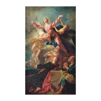 La suposición de la Virgen Lona Envuelta Para Galerías