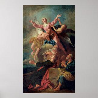La suposición de la Virgen Póster