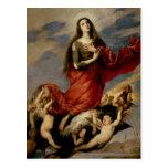 La suposición de Maria Magdalena, 1636 Postal