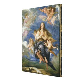 La suposición de Maria Magdalena (aceite en lona) Impresion De Lienzo