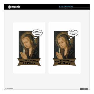La suposición de Maria Pegatina Skin Para Kindle Fire