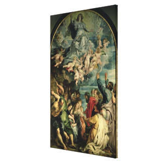 La suposición del Altarpiece de la Virgen, 1611/14 Impresión En Lona Estirada