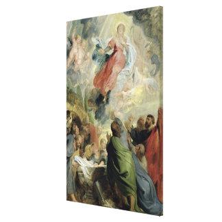 La suposición del Virgen María Lona Envuelta Para Galerias