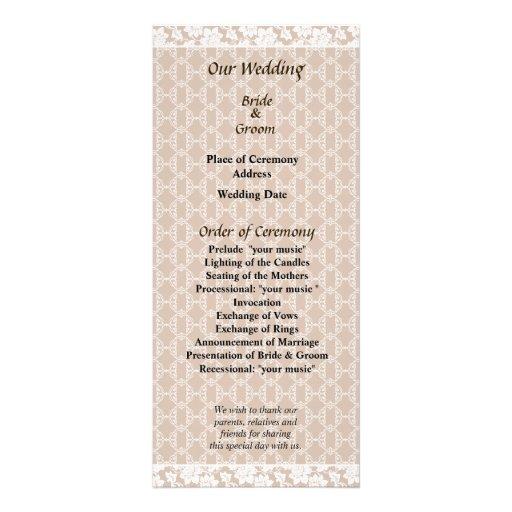 La suposición raya programa del boda tarjetas publicitarias a todo color