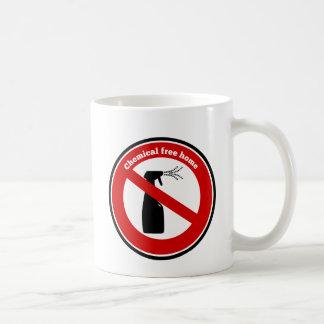 La sustancia química libera a casa taza de café