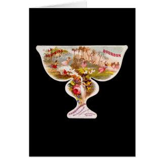 La Sylphide bourbon whiskey label Card