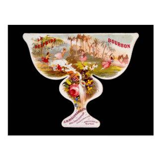 La Sylphide bourbon whiskey label Postcard