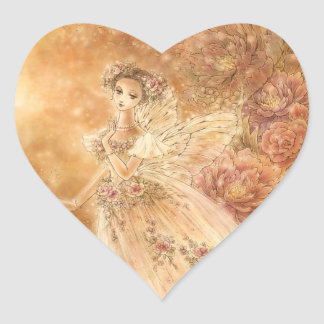 La Sylphide Heart Sticker