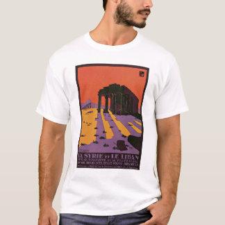 La Syrie et le Liban French Vintage Travel Poster T-Shirt