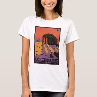 La Syrie et Le Liban vintage travel poster T-Shirt