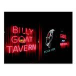 La taberna de la cabra de Billy, Chicago Tarjeta Postal