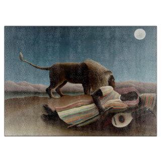 La tabla de cortar gitana durmiente de Rousseau
