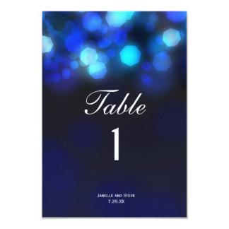 """La tabla de medianoche del boda de Bokeh del cielo Invitación 3.5"""" X 5"""""""