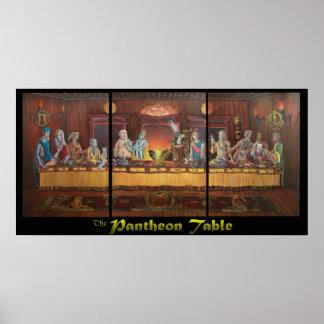 La tabla del panteón impresiones