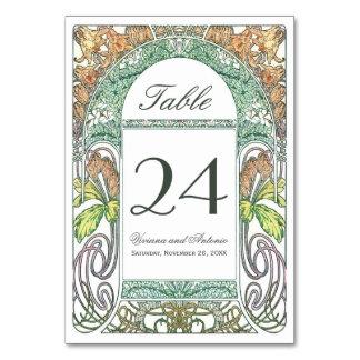 La tabla floral del boda del vintage numera IV
