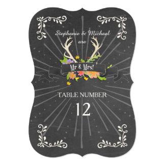 La tabla numera el Wildflower de la asta de los Comunicado Personal