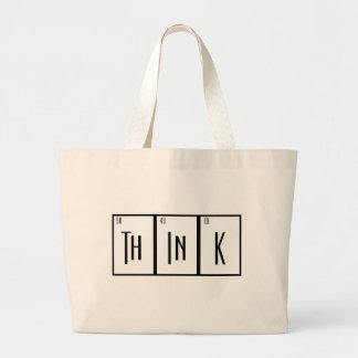 La tabla periódica piensa al friki del diseño del  bolsas