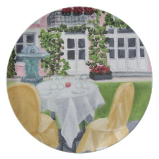 La Table des Marechaux:Fontainebleau, France plate