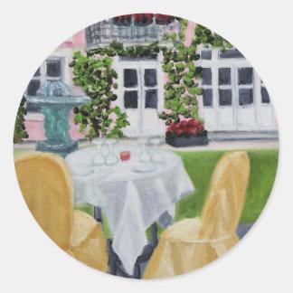 La Table des Marechaux:Fontainebleau stickers